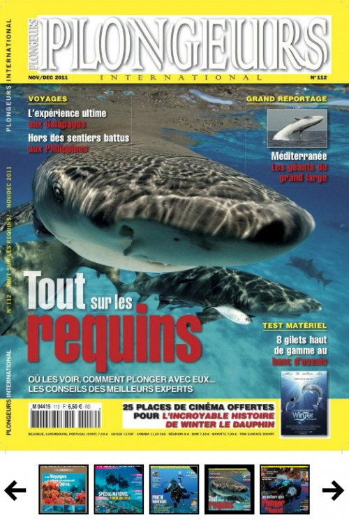 Plongeur international N°112