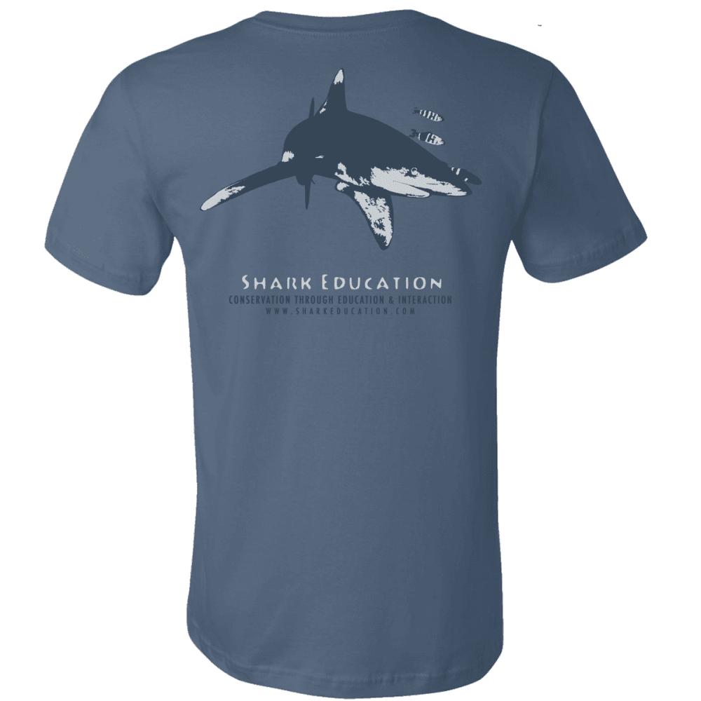 boutique tee-shirt bleu